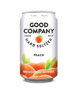 Good Company Hard Seltzer Peach